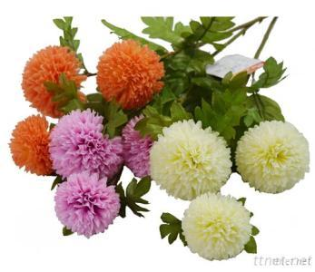 55Cm Ball Chrysanthemum, Artificial Flower