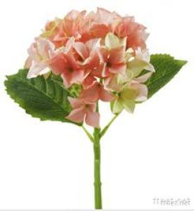 36Cm Single Stem Hydrangea Flower For Home Decoration, Artiificial Flower Outfit
