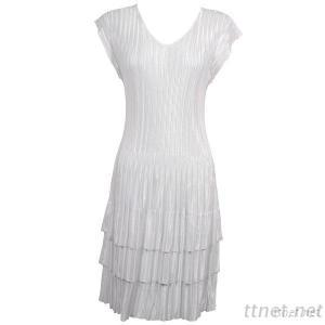 Mini Pleat Dress