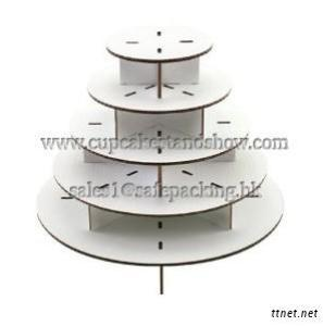 Cardboard Cake Stand For Wedding Party