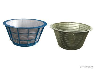 Wedge Wire Cylindrical Baskets