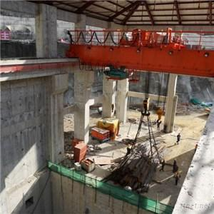 Double Girder Overhead Travelling With Trolley (QD250T-30M)