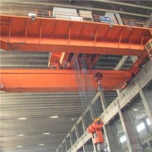 20 Ton Double Girder Overhead Crane With Traveling Trolley