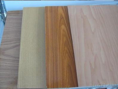 Wood Grain And Single Color PVC Plywood