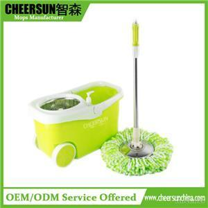 Walkable Spin Mop With Wheels
