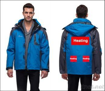 Men'S Jacket With Battery Heating System Electric Heating Clothing Warm OUBOHK