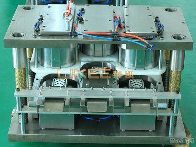 Aluminum Foil Container Mould With Three Cavity