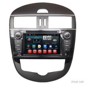 Export Wholesale Nissan Tiida Android Double Din Car DVD Player Radio System