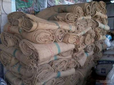 Used Jute Sacks Bag For Coffee Or Rice From Thailand