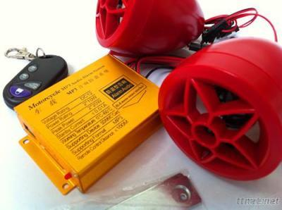 Motorcycle MP3 Alarms with FM Radio Function
