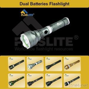 Dual Batteries Flashlight