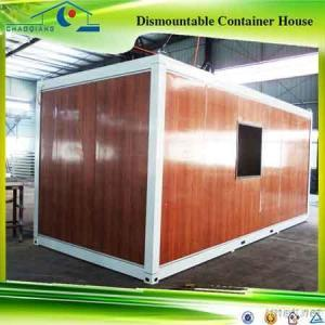 Wood Outside Like Portable Container House For Live /Office