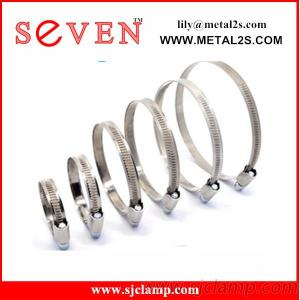 Powerful Double Bolt Double Band Clamp