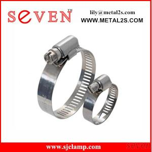 Popular For American Market Cheap Steel Material Round Hose Clamp