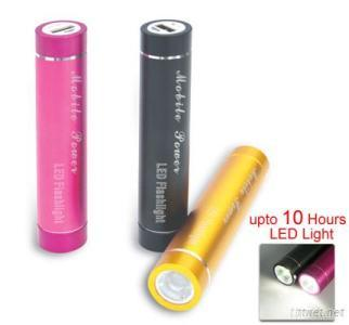 2600MAh Power Bank With LED For Mobile Devices