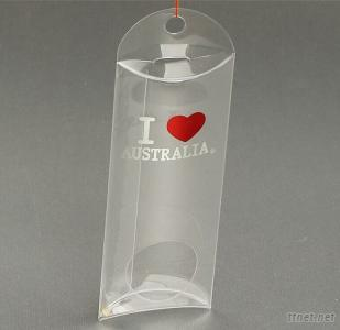 Plastic Clear Pillow Boxes For Packaging Candy