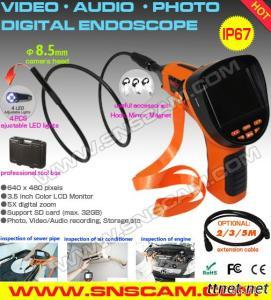 Industrial Video Endoscope / Video Borescope/ Video Endoscopy