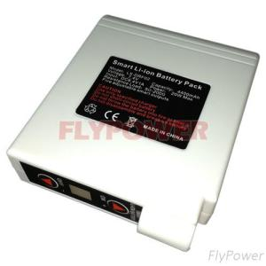 7.4V 4400MAh 18650 Smart Li- Ion Battery Pack For Heated Clothes