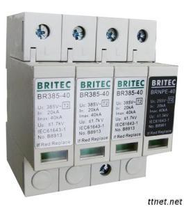Type 2 Surge Arrester With Build In Circuit Protection