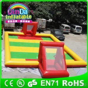 Outdoor Sport Inflatable Football Field Soccer Playground