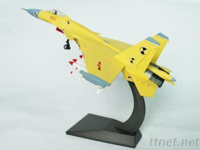 1: 50 China's J-15 Carrier Figther Model