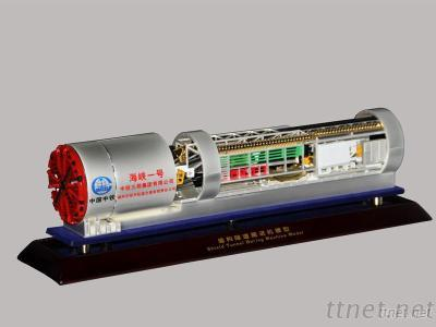 Diecast Machinery Tunnel Boring Machine (TBM) Model