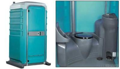 Plastic Portable Toilet By Rotomolding Mould