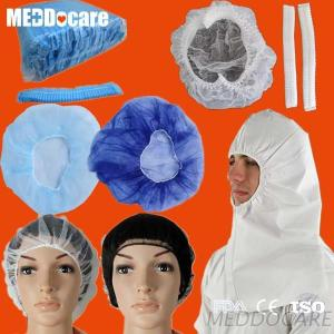 PP SMS Hospital Surgeon Non Woven Mob Cap Surgical Medical Round Shape Disposable Bouffant Cap