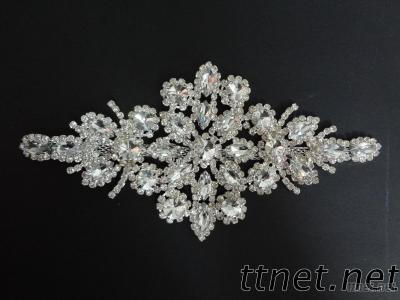 Crystal And Rhinestone Trim For Garment And Decoration