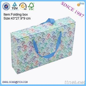2015 New Products Folding Box Paper Bag