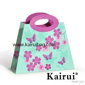 Beautiful Violet Butterfly Gift Bag