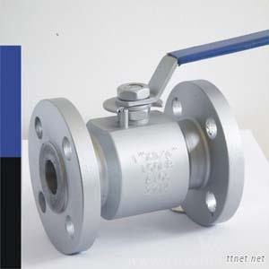 Lever Operation Flanged Floating Two Pieces Ball Valve