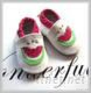 Baby Shoes Antiskid Shoes Infant Leather Shoes