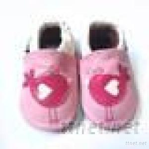 Baby Shoes for Red Bird Princess Leather Shoes