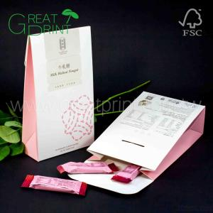Eco-friendly Packaging Chocolate Candy Paper Gift Bag