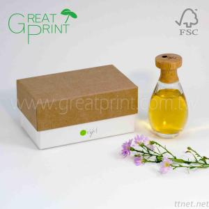 Eco-friendly Natural Cosmetic Gift Paper Box