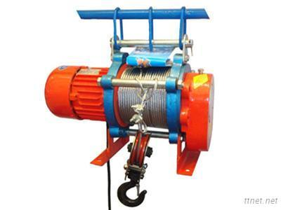 Multifunctional Mini Wire Rope Winch Electric Hoist Price For Construction