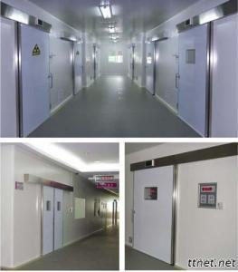 Hospital Cleanroom Hermetic Sealed Airtight Sliding Doors