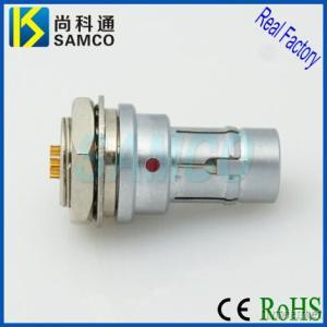 Push Pull Self Locking Connector, Self Latching For Medical Treatment