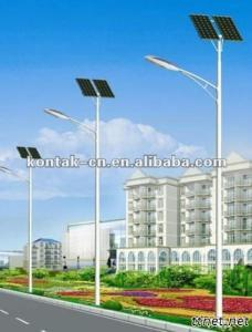 100W Solar LED Street Lamp With UL And CE Certificates