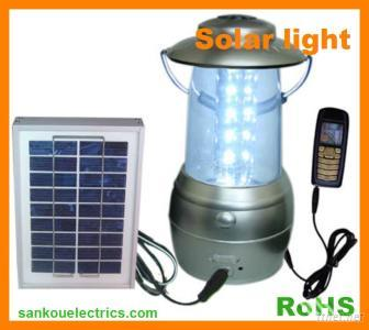 Solar LED Lantern Light For Camping