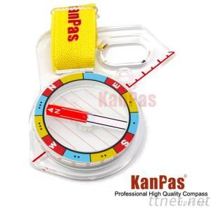 KANPAS Elite Competition Orienteering Compass MA-43-F