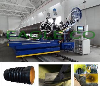 HDPE/PP Profiles Winding Pipe Production Line