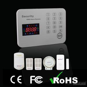 Ten Language Optional New Color Wireless GSM Home Alarm System(Support APP&IOS)