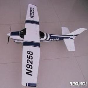 Blue Cessna 182 EPO RC Airplane