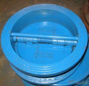 Dual Plate Butterfly Type  Wafer Check Valve