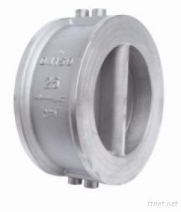 Dual Plate Butterfly Type Swing Wafer Check Valve