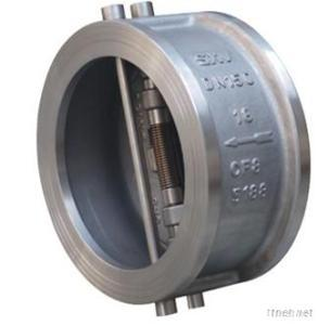 Dual Plate Swing Type Wafer Check Valve