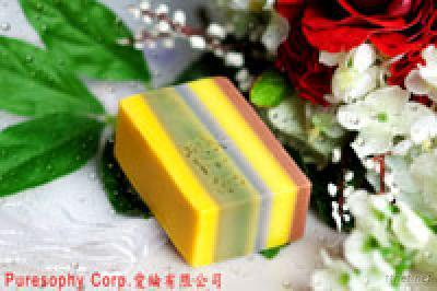 Puresophy Handmade Soap_Colorful Soap (Brightening)