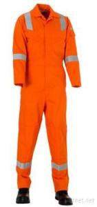 Flame Resistant Work Coverall